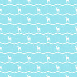 Modèle avec animals-08 Photographie stock libre de droits