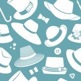 Modèle avec des chapeaux de vintage Photo libre de droits