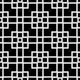 Modèle avec des formes croisées carrées Texture de couvertures illustration de vecteur