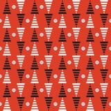 Modèle avec des triangles Photo libre de droits