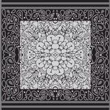 Modèle avec l'ornement Configuration géométrique Photos stock