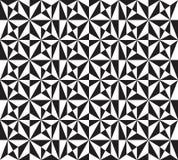 Modèle avec les étoiles hexagonales Photographie stock