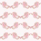 Modèle avec une fleur décorative Photos stock