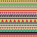 Modèle aztèque abstrait Photo stock