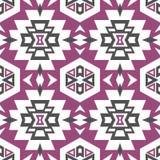 Modèle aztèque sans couture Photos stock