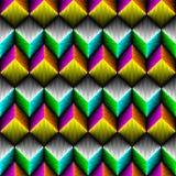 Modèle aztèque sans couture Fond coloré de gradient de vecteur Photo stock