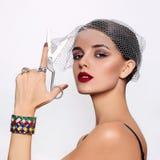 Modèle beau et de mode Photos stock