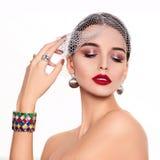 Modèle beau et de mode Photographie stock