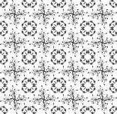 Modèle blanc avec la ligne blanche mozaic illustration libre de droits