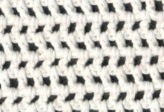 Modèle blanc de crochet de plan rapproché Photo libre de droits