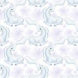 Modèle blanc de licorne Photographie stock