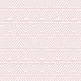 Modèle blanc géométrique avec des triangles illustration de vecteur