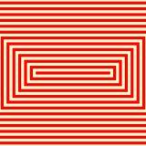 Modèle blanc rouge rayé Fond géométrique de texture de lignes droites abstraites de répétition illustration stock