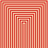 Modèle blanc rouge rayé Fond géométrique de texture de lignes droites abstraites de répétition illustration libre de droits