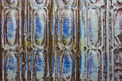 Modèle bleu abstrait horizontal Photographie stock libre de droits
