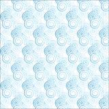Modèle bleu-clair de spirale de gradient Photographie stock