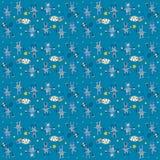 Modèle bleu de lièvres Photographie stock libre de droits