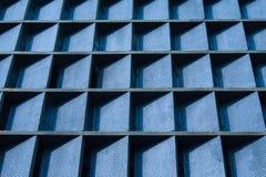 Modèle bleu de mur Images stock