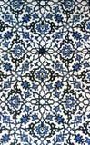 Modèle bleu et blanc oriental Image stock