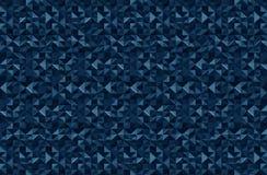 Modèle bleu-foncé Photo libre de droits