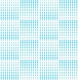 Modèle bleu géométrique abstrait d'image tramée d'impression de conception graphique Photographie stock libre de droits