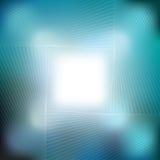 Modèle bleu géométrique avec des lignes Photographie stock libre de droits