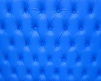 Modèle bleu luxueux de fond d'Upholstry Image stock