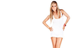 Modèle blond Images stock