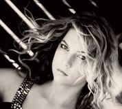 Modèle blond Photo libre de droits