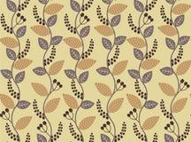 Modèle botanique sans couture Photo stock