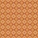 Modèle brun sans couture de couleur illustration libre de droits