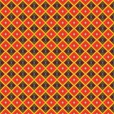 Modèle brun sans couture de couleur illustration stock