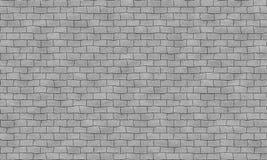 Modèle capable de tuile grise sans couture de mur de briques Forme inégale Pour intérieur, extérieur rendez la cartographie de ma illustration de vecteur