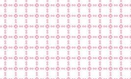 Modèle carré rose de fleur Image libre de droits