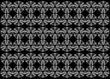 modèle celtique géométrique en métal 3d - illustration, papier peint, milieux, Photo stock