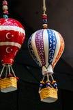Modèle chaud de ballons à air fait d'argile pour la décoration Photos stock