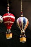 Modèle chaud de ballons à air fait d'argile pour la décoration Photo stock