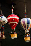 Modèle chaud de ballons à air fait d'argile pour la décoration Image stock