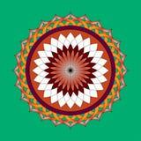 Modèle circulaire élégant images stock