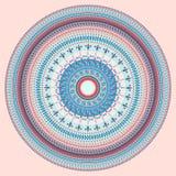Modèle circulaire abstrait illustration de vecteur