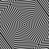 Modèle circulaire dans le style grunge, noir et blanc, mouvement d'effet illustration libre de droits