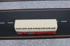 Modèle classique d'autobus de Londres Photo stock