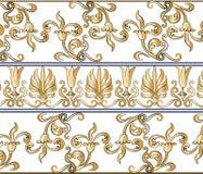 Modèle classique de style d'empire illustration de vecteur