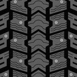 Modèle clouté de pneu Images stock