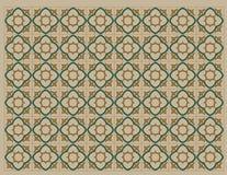 Modèle colonial 2 illustration stock