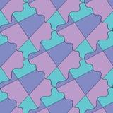 Modèle coloré abstrait de tessellation de la géométrie image libre de droits