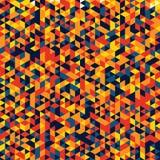 Modèle coloré avec le losange Image libre de droits