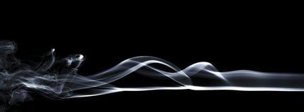Modèle coloré blanc, bleu, noir et d'arc-en-ciel de fumée Image stock