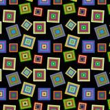 Modèle coloré carré Photos libres de droits