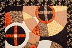 Modèle coloré d'édredon Image stock